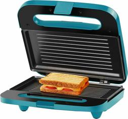 2 Section Grilled Cheese Sandwich Maker, Brushed Stainless S
