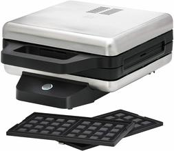 415420013 sandwich maker with plates interchangeable silver