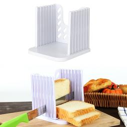 Bread Toast Slicer Cutting Guide Bagel Loaf Mold Sandwich Ma