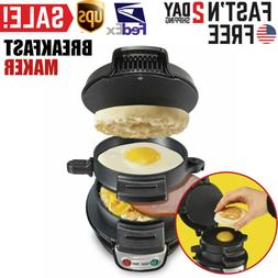 Breakfast Sandwich Maker Complimentary Meat Toster Cooking M