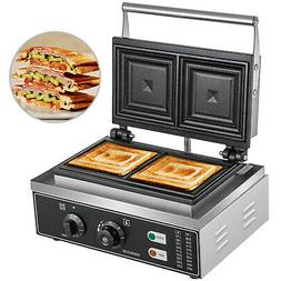 Commercial Sandwich Maker Panini Press Grill Cheese French T
