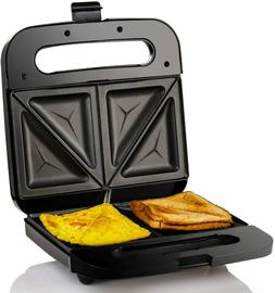 Compact Electric Panini Press Sandwich Maker with with, Non-