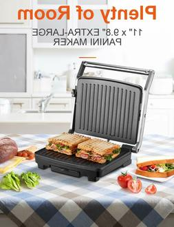 DEIK Contact Grill, Removable Plate Electric Indoor Grill an