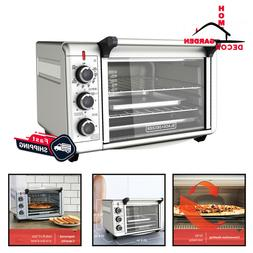 Convection Countertop Oven Stainless Steel Kitchen Pizza Mak