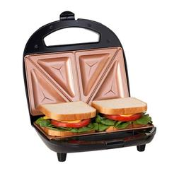 Gotham Steel Dual Electric Sandwich Maker and Panini Grill w