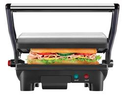 Chefman Electric Panini Press Grill and Gourmet Sandwich Mak