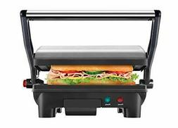 Electric Panini Press Grill and Gourmet Sandwich Maker Non S