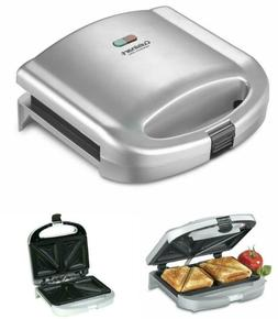 Electric Sandwich Maker Grill Dual-Sandwich Nonstick French