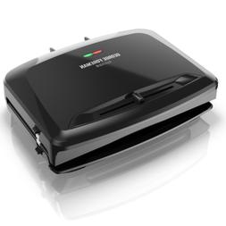 george foreman panini press sandwich maker 1400w