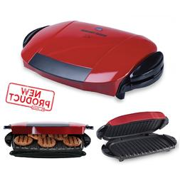 Indoor Grill & Panini Press 5 Serving Removable Plate Electr