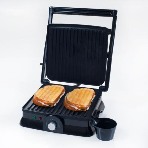 Panini Press Indoor Grill and Gourmet Sandwich Maker, Electr
