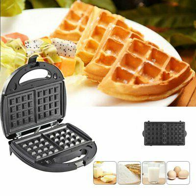 BLACK in 1 Meal Waffle Maker Non