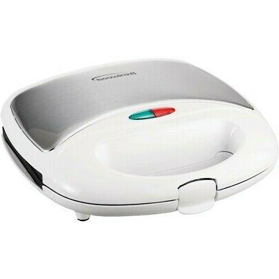 btwts240w sandwich maker nonstick cooking surface white