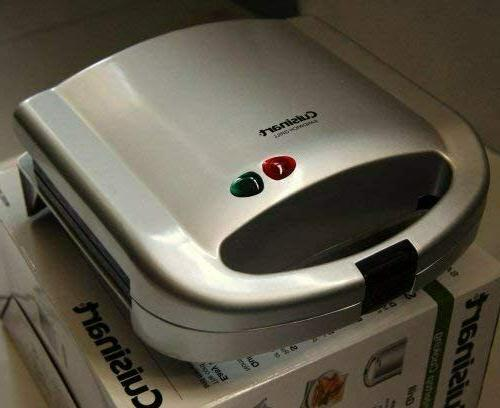 OSTBA Toaster and Electric Panini with Non-stick,