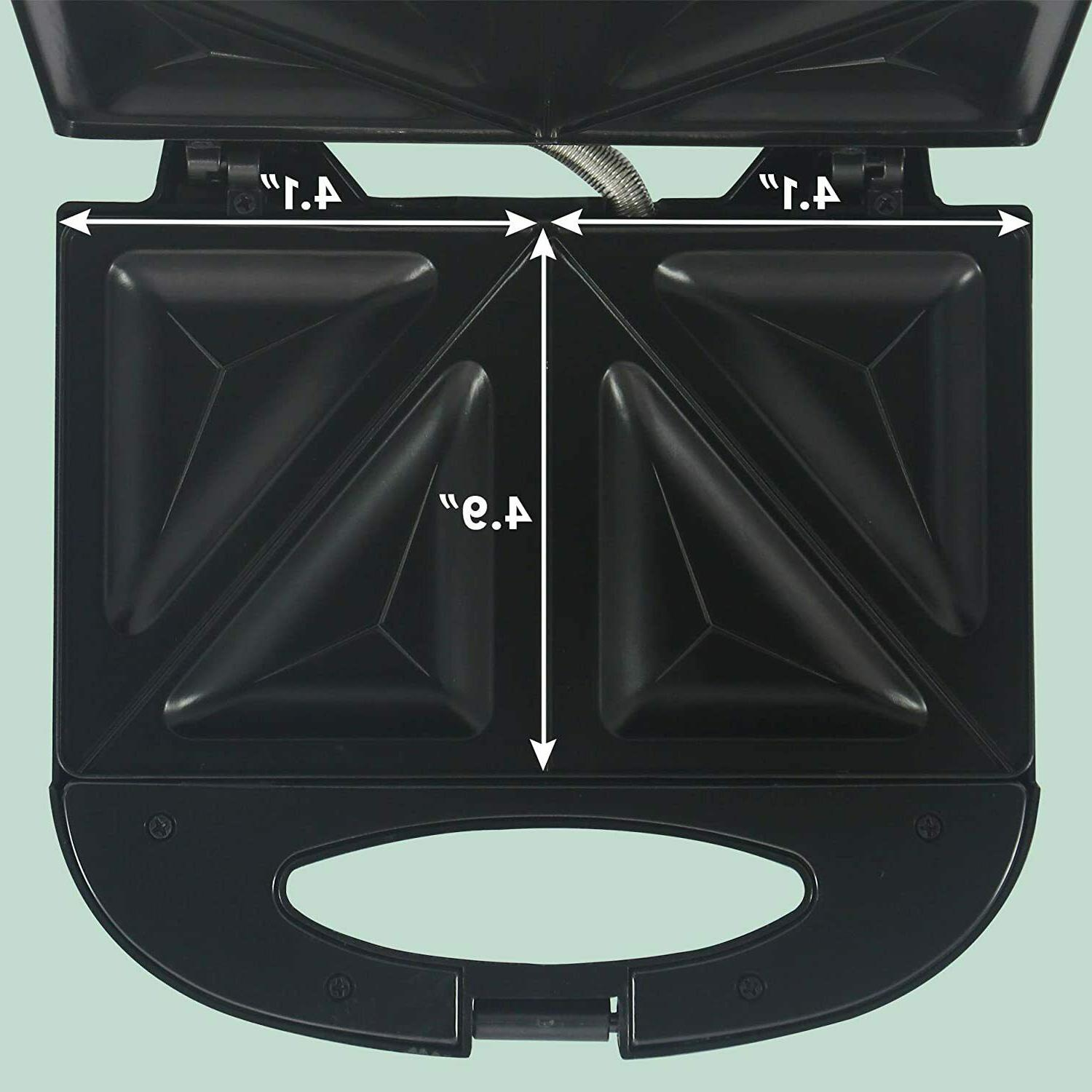 Electric Panini Press Non Stick Cooking Surface