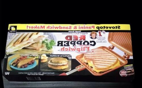 flipwich stovetop panini and sandwich maker as