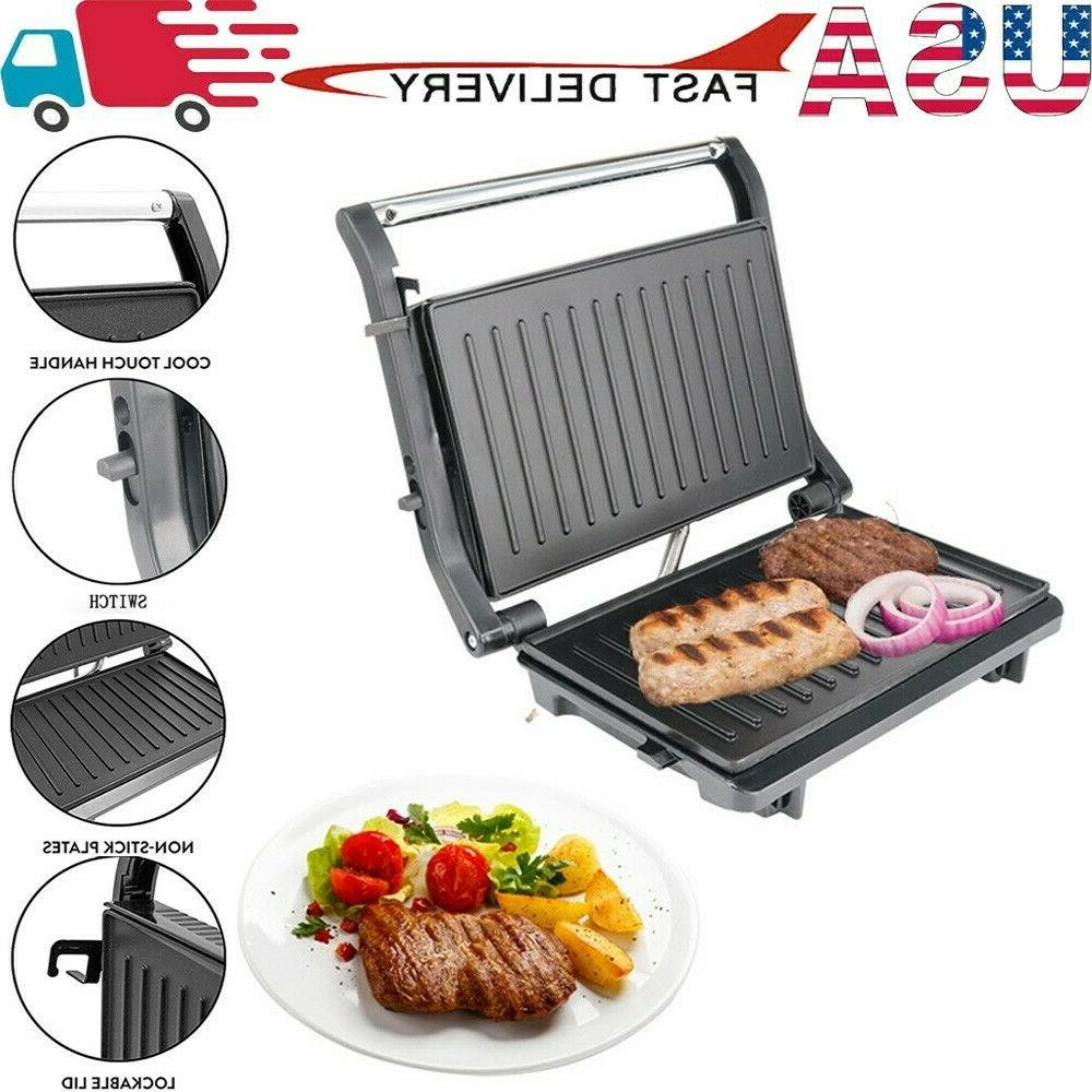 home electric panini maker press and sandwich