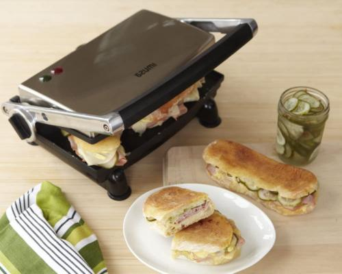 Panini Press Maker Grill Stainless Nonstick