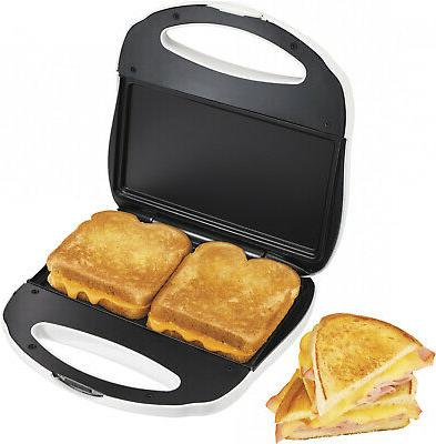 panini sandwich maker toaster grilled cheese nonstick