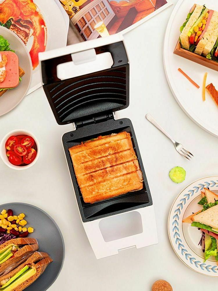 portable waffle toaster maker non stick electric