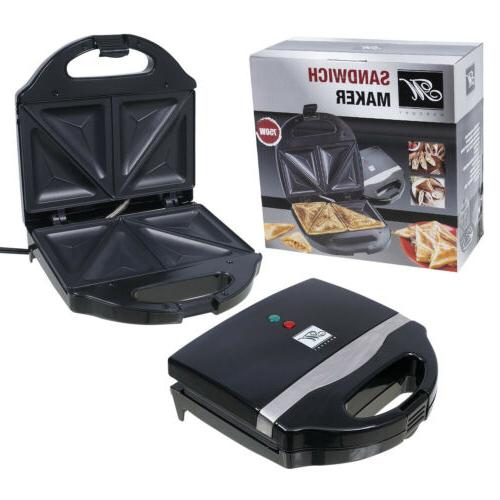 sandwich maker and toaster with baking plates