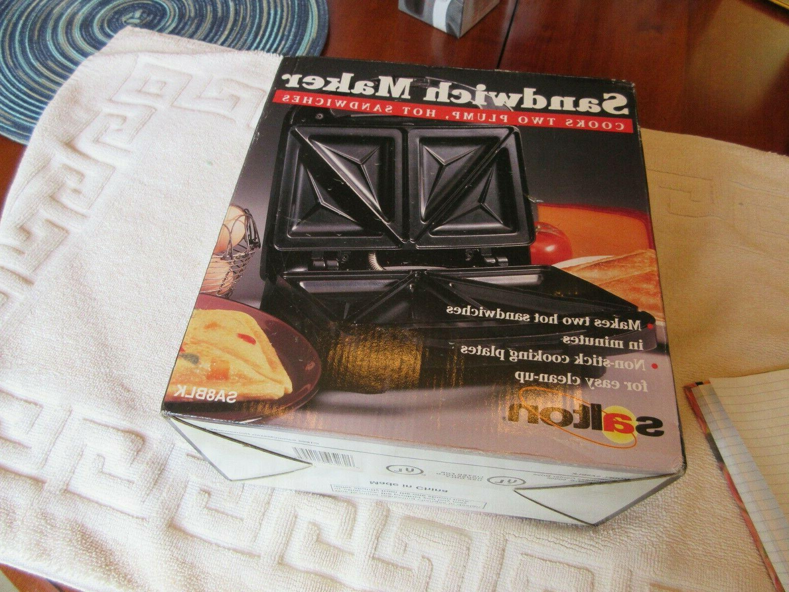 sandwich maker sa8blk old new inventory