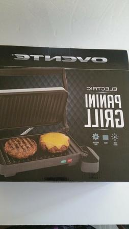 Ovente 2 Slice Electric Panini Press Grill and Gourmet Sandw