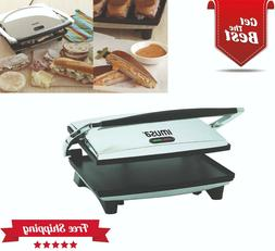 panini press sandwich maker grill commercial electric