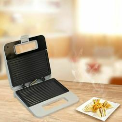 Sandwich Grill Stainless Steel Non-stick  Waffle Maker Toast