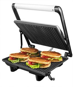 Aicok Sandwich Maker Gri Panini Grill Grill Electric with no