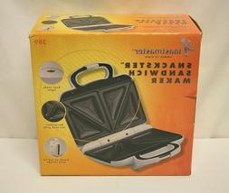 NEW IN BOX TOASTMASTER  White ELECTRIC SNACKSTER Cool-Touch